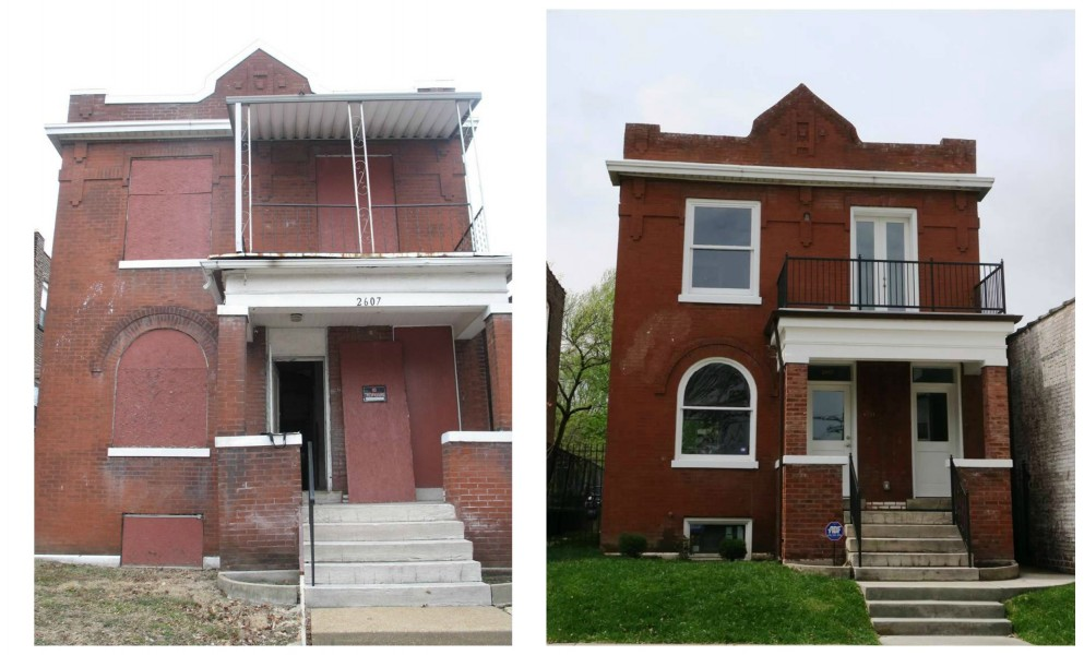 2607 California, Before & After