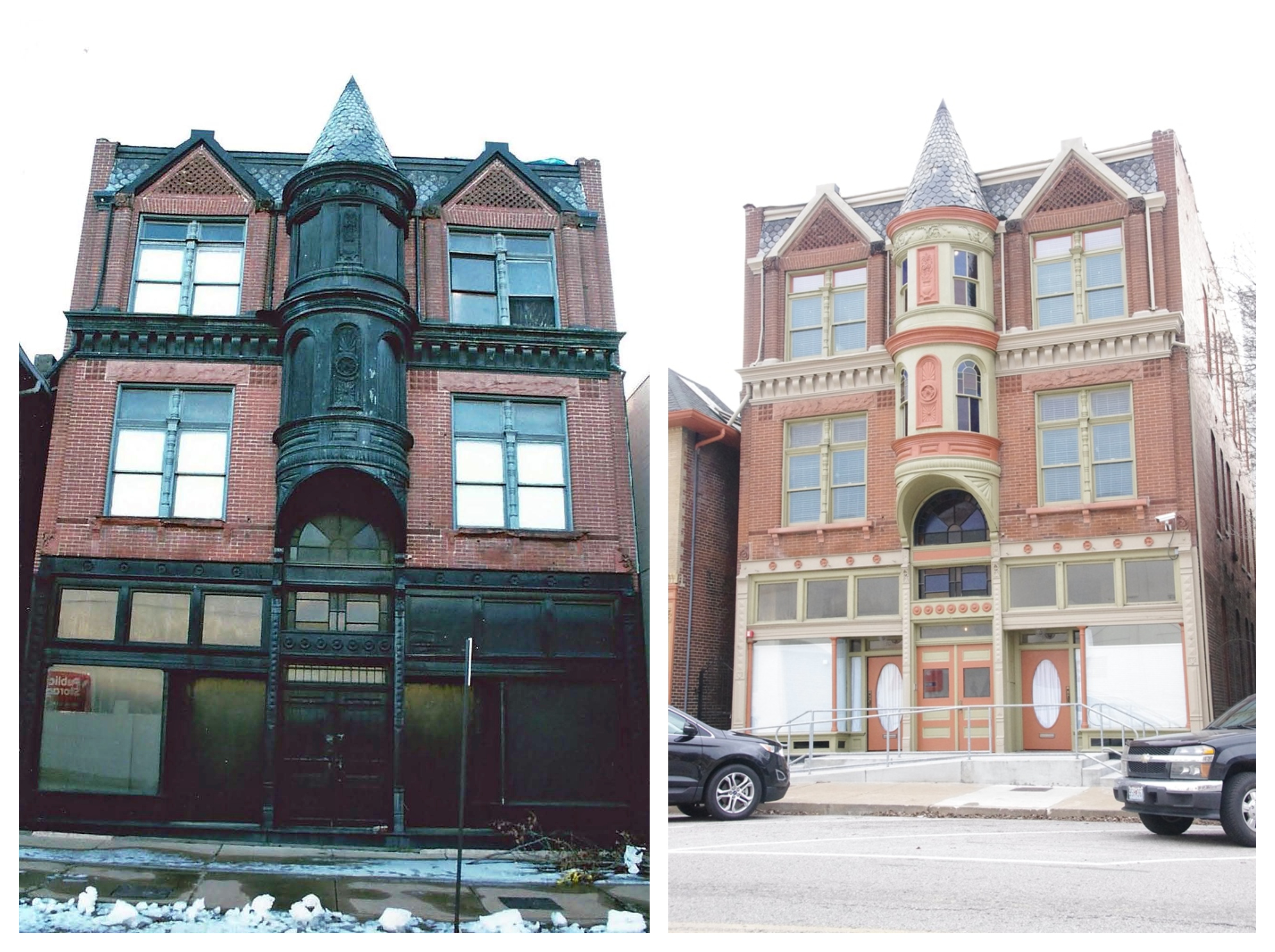 3900-3912 Laclede Avenue, the Gerhart Block/ Gerhart Lofts