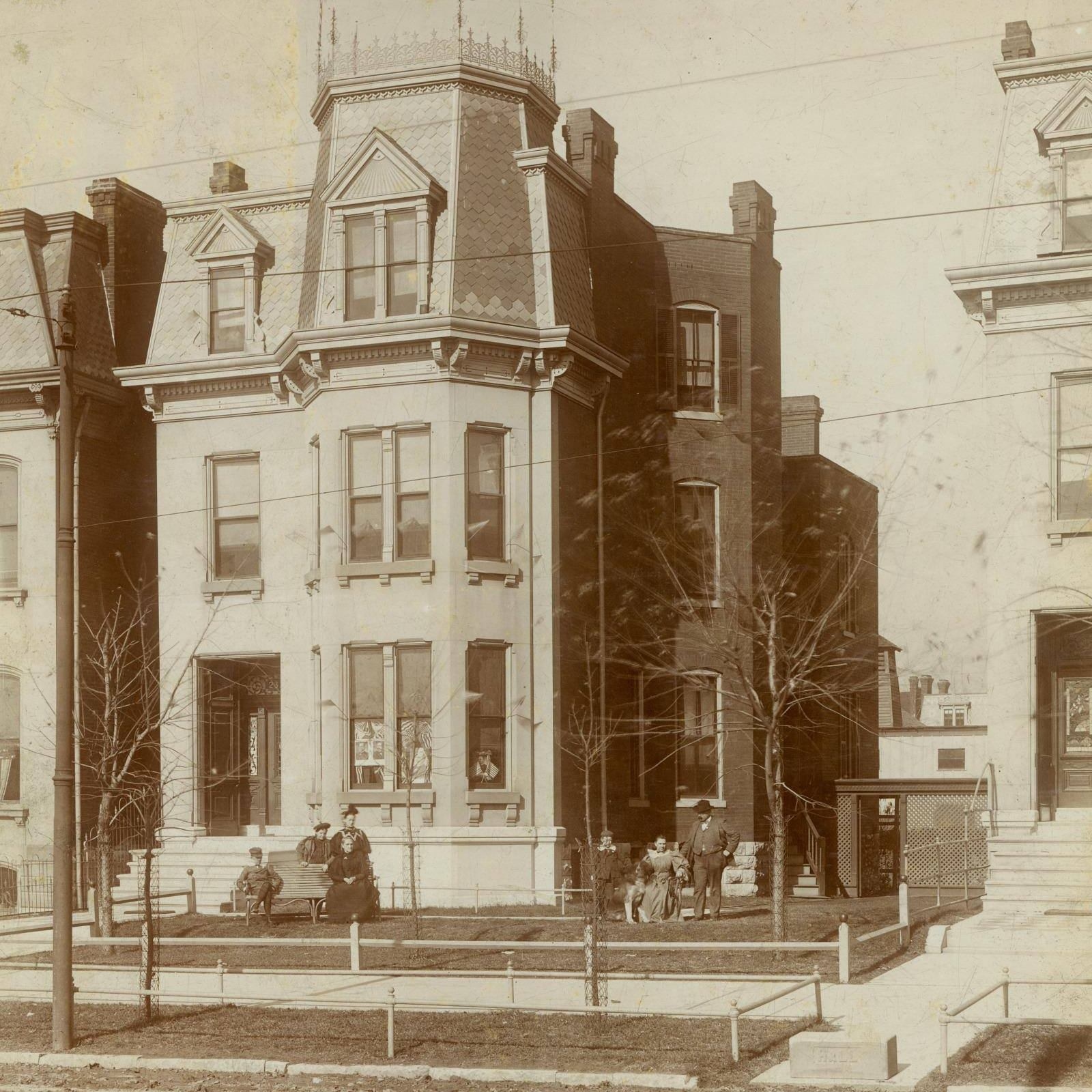 Charles S. Brown house, a 2nd Empire Strikes Back