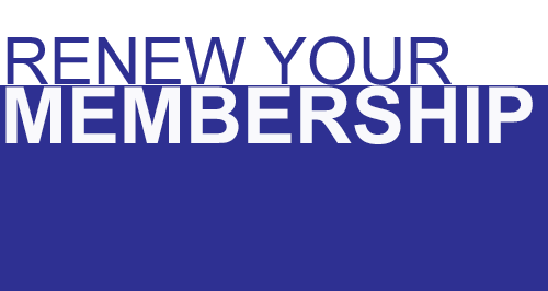 Renew Your Membership