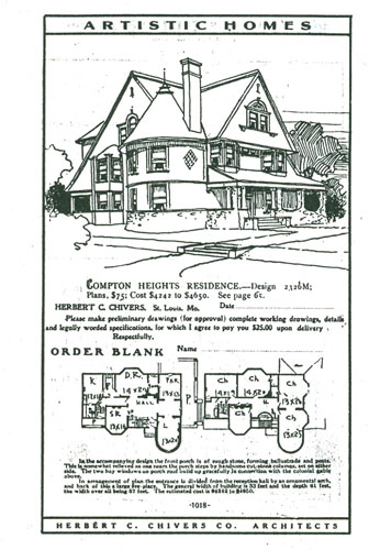 Early 20th century house designs
